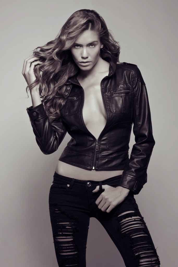 Photograph Britt Leather by michael falco on 500px