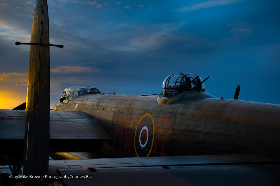 BBMF Avro Lancaster Bomber by Mike Browne on 500px.com