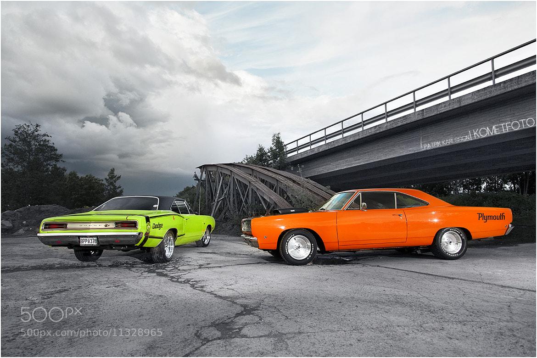 Photograph Super Bee vs Roadrunner by Patrik  Karlsson on 500px