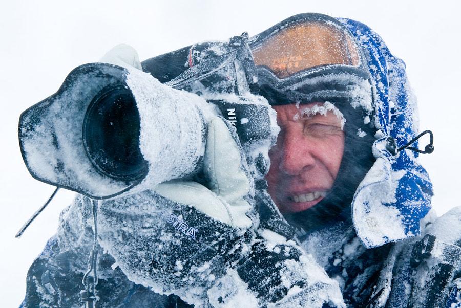 Frosted Nikon, автор — Christer Lindh на 500px.com
