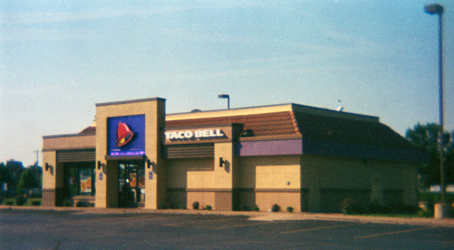 Photograph Taco Bell by Richard Keeling on 500px