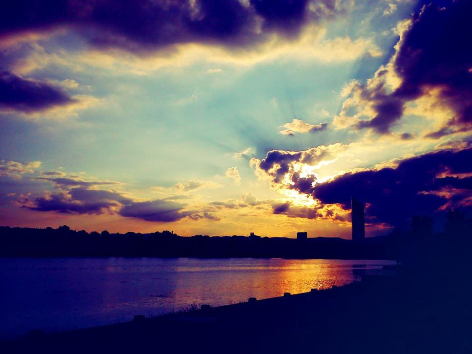 Photograph danube sunset by Arbi Movsesian on 500px