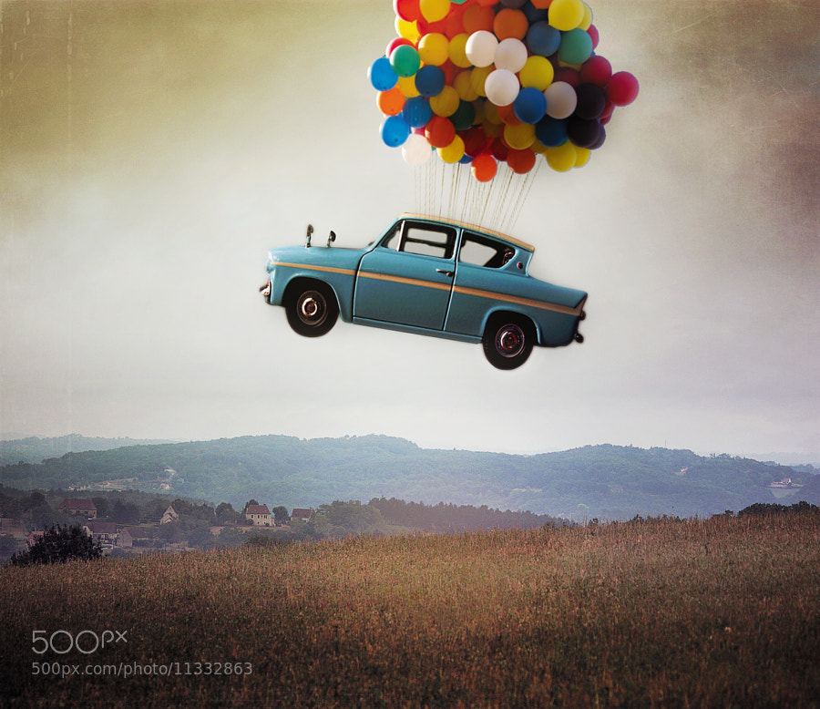 Photograph Weasley's car by Vincent Bourilhon on 500px