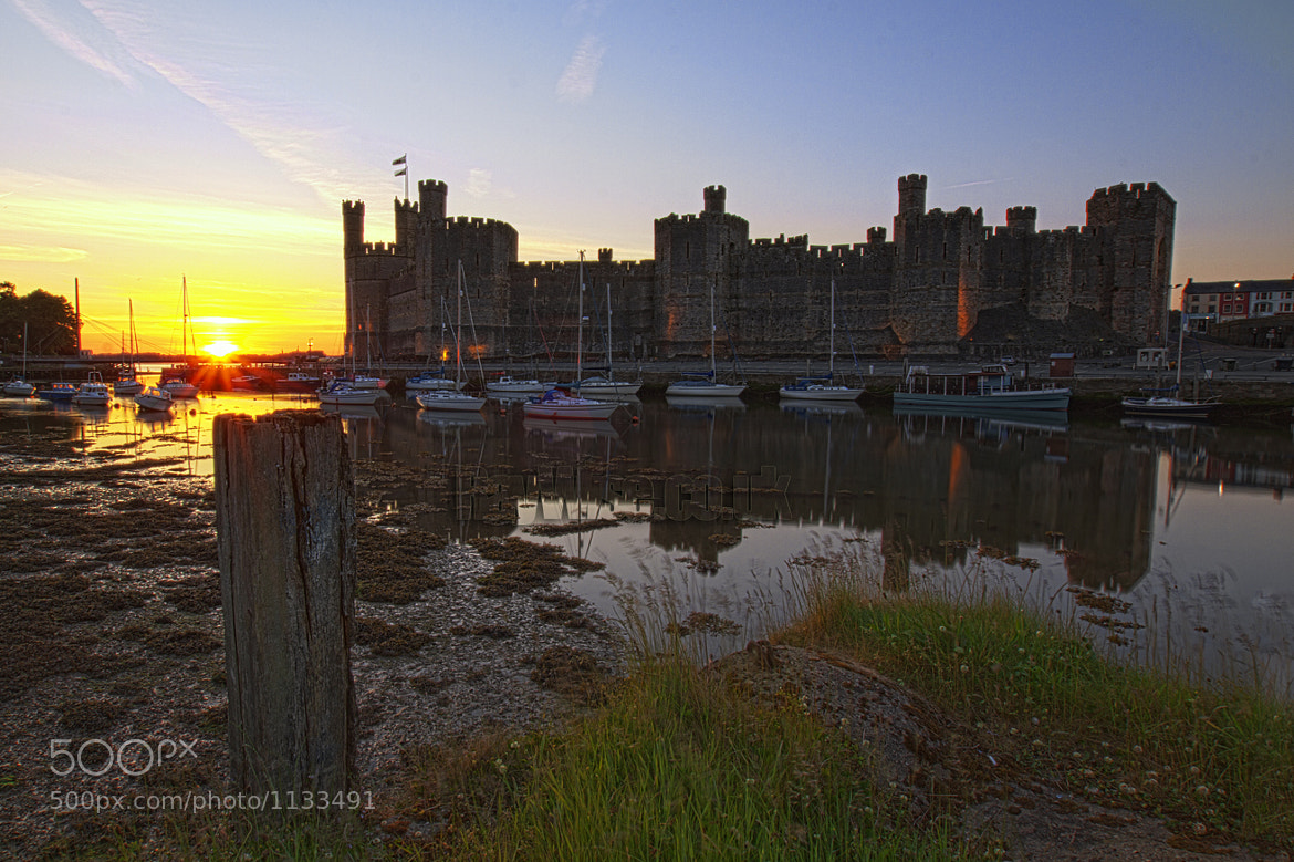 Photograph Caernarfon Castle by Ray Wise on 500px