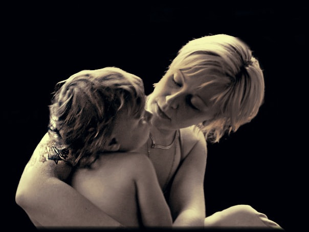 Photograph Genuine Love - Mother and Child by M.L. Villeneuve on 500px