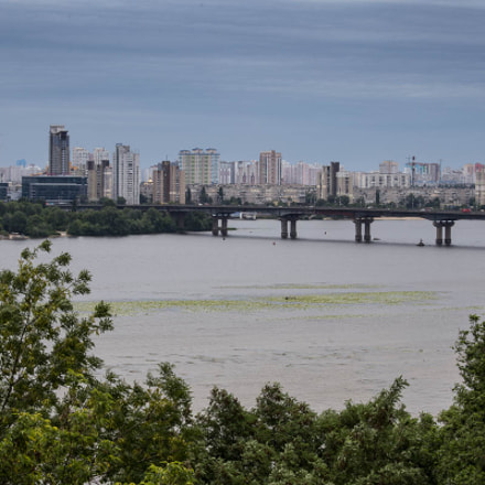 Left-bank of river Dnipro