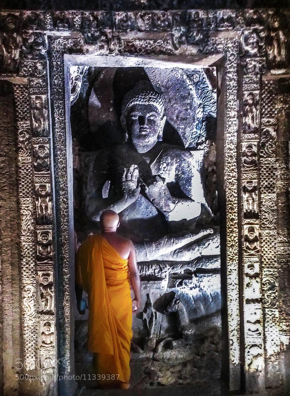 Photograph Buddha the Monk by Kumaran Shanmugam on 500px