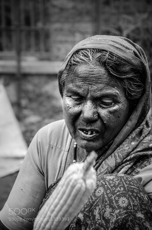 Photograph Corn Seller at Ellora by Kumaran Shanmugam on 500px