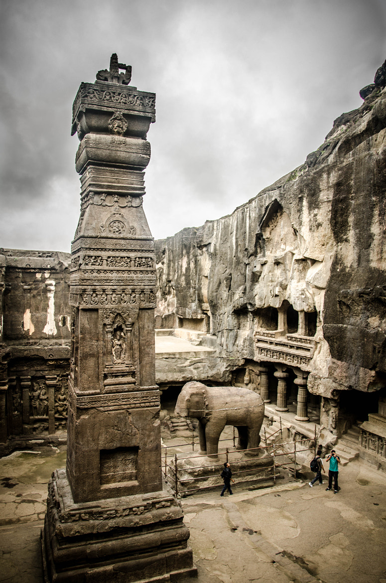 Photograph Kailash temple tower in Ellora by Kumaran Shanmugam on 500px