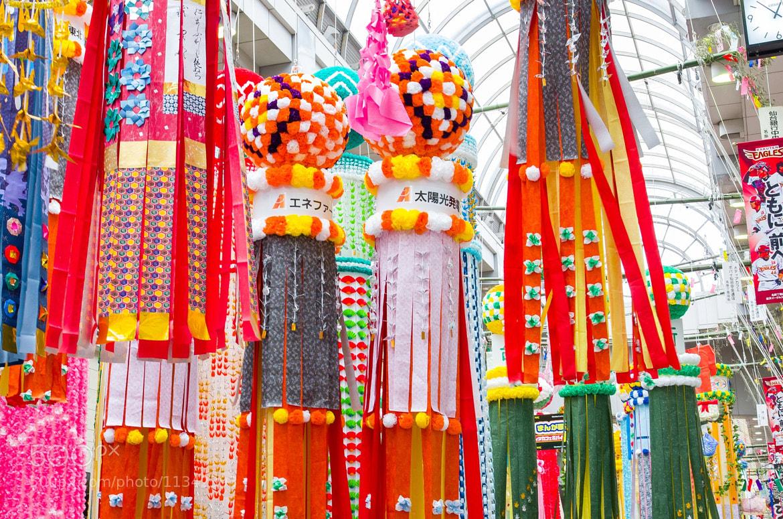 Photograph Sendai tanabata festival by sideo okochi on 500px