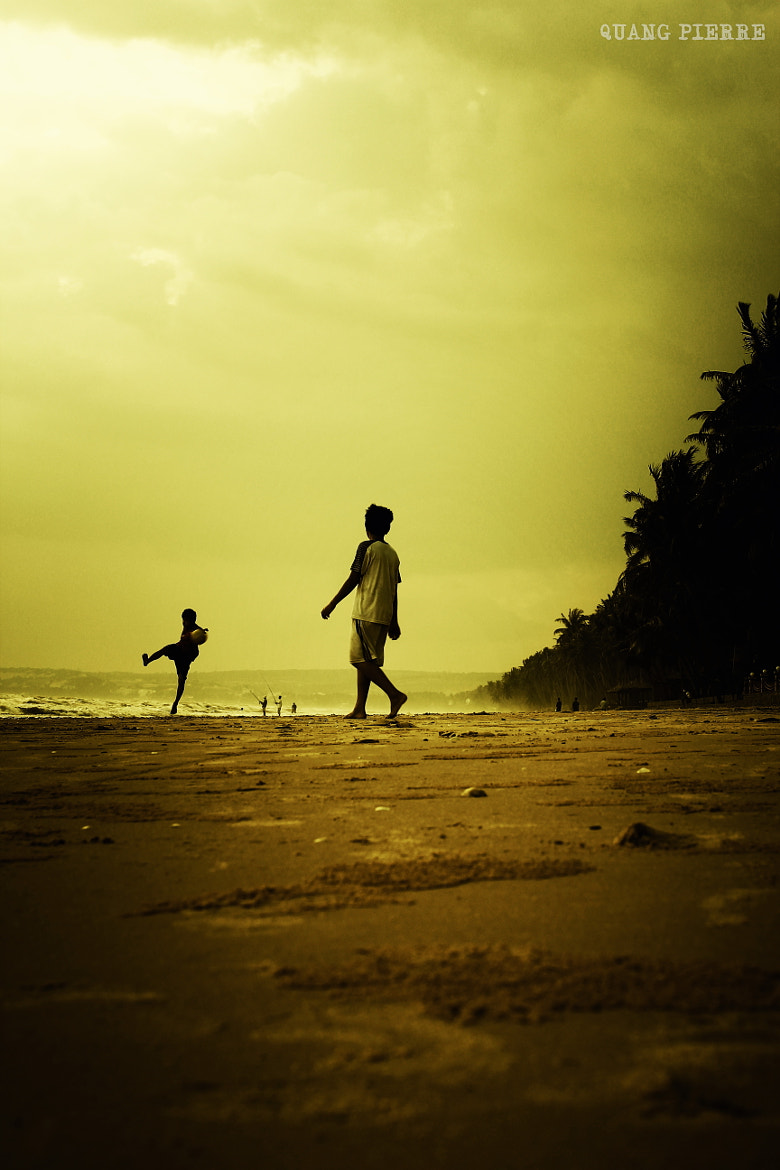 Photograph A Game on Beach by Quang Pierre on 500px