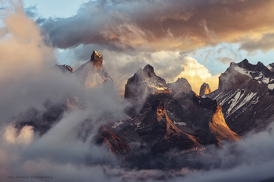 Cloud Mountain by Ness Farmilo on 500px.com