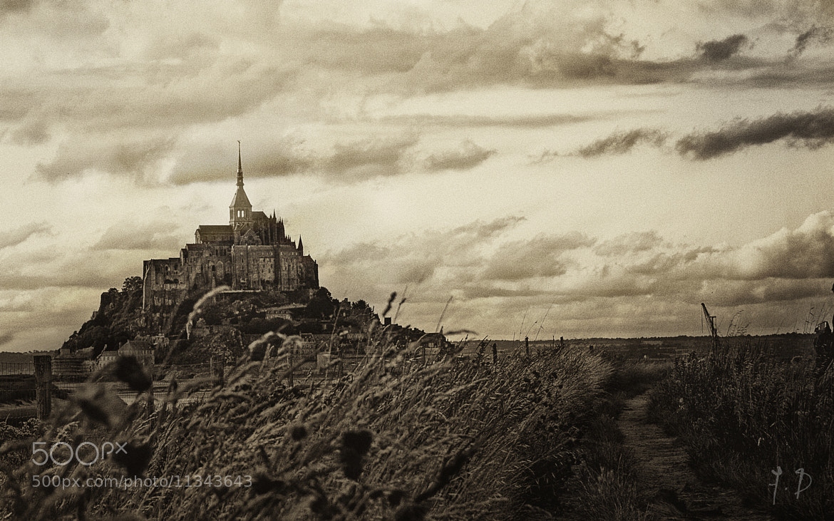 Photograph On the road to Mt St Michel by dufau julien on 500px