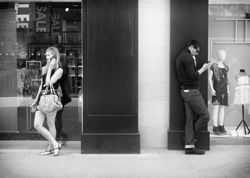 Photograph Talking Txting by Steve Harris on 500px