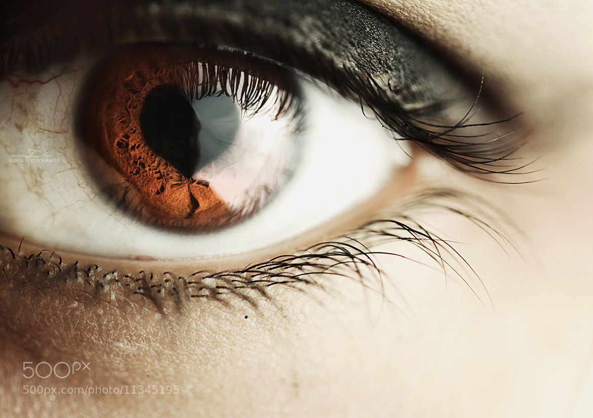 Photograph love eye by rania ' on 500px