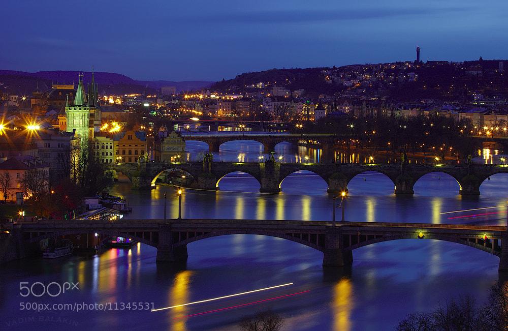 Photograph Prague Bridges (II) by Vadim Balakin on 500px