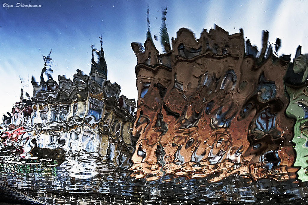 Photograph The reflection in the river of Karlovy Vary. by Olga Shiropaeva on 500px