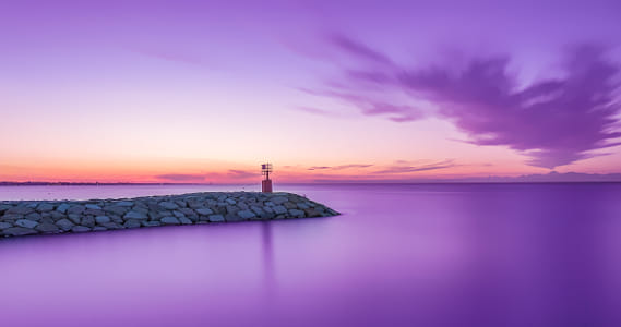 purple sunset by Brian Wilson on 500px