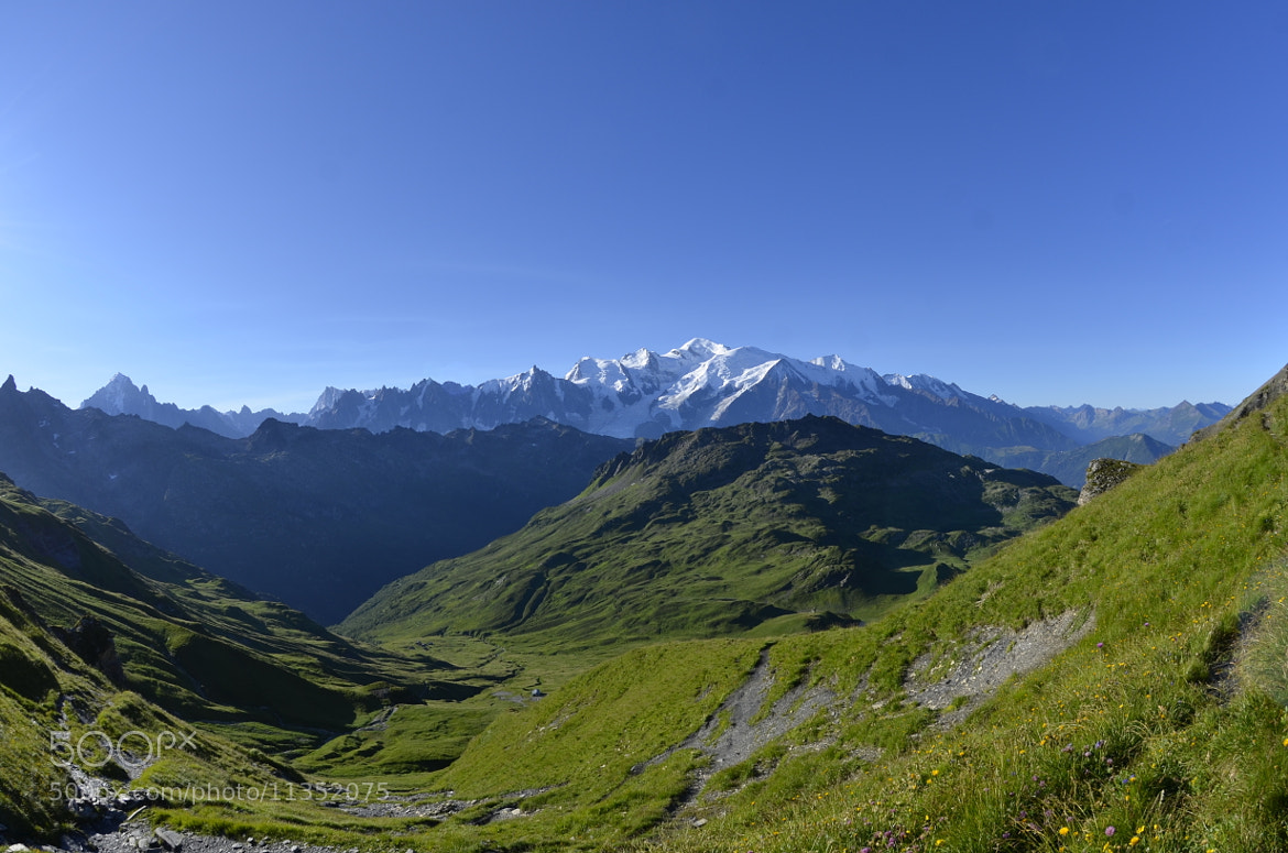 Photograph Panorama Mt Blanc by Arnaud CHATEL on 500px