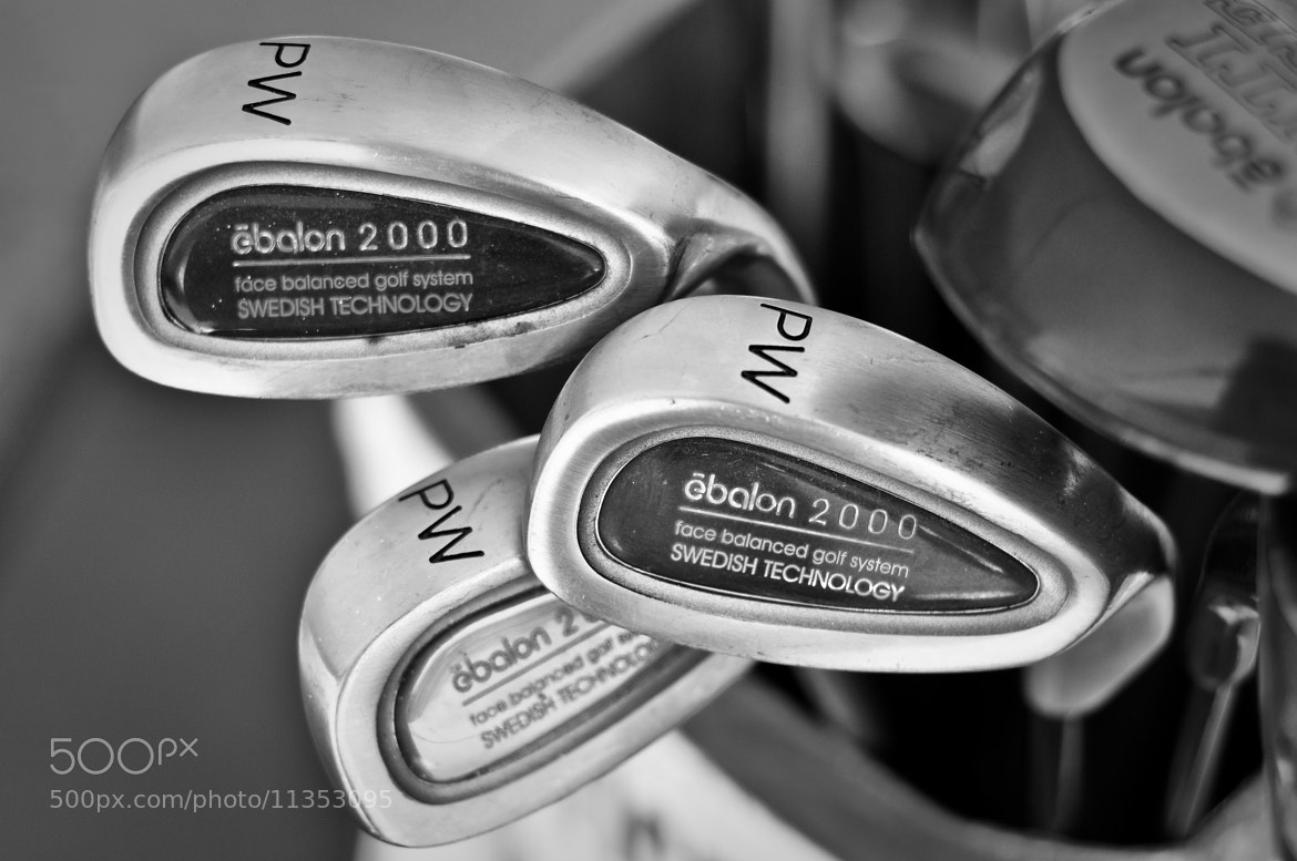Photograph Golf Clubs by Jose Antonio Castellanos on 500px