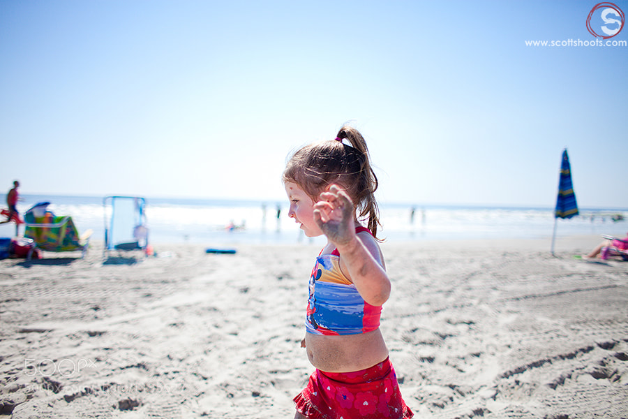 Photograph Riley on the Beach by Scott Neumyer on 500px