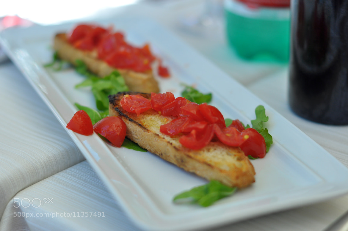 Photograph bruschetta by serge vincent on 500px