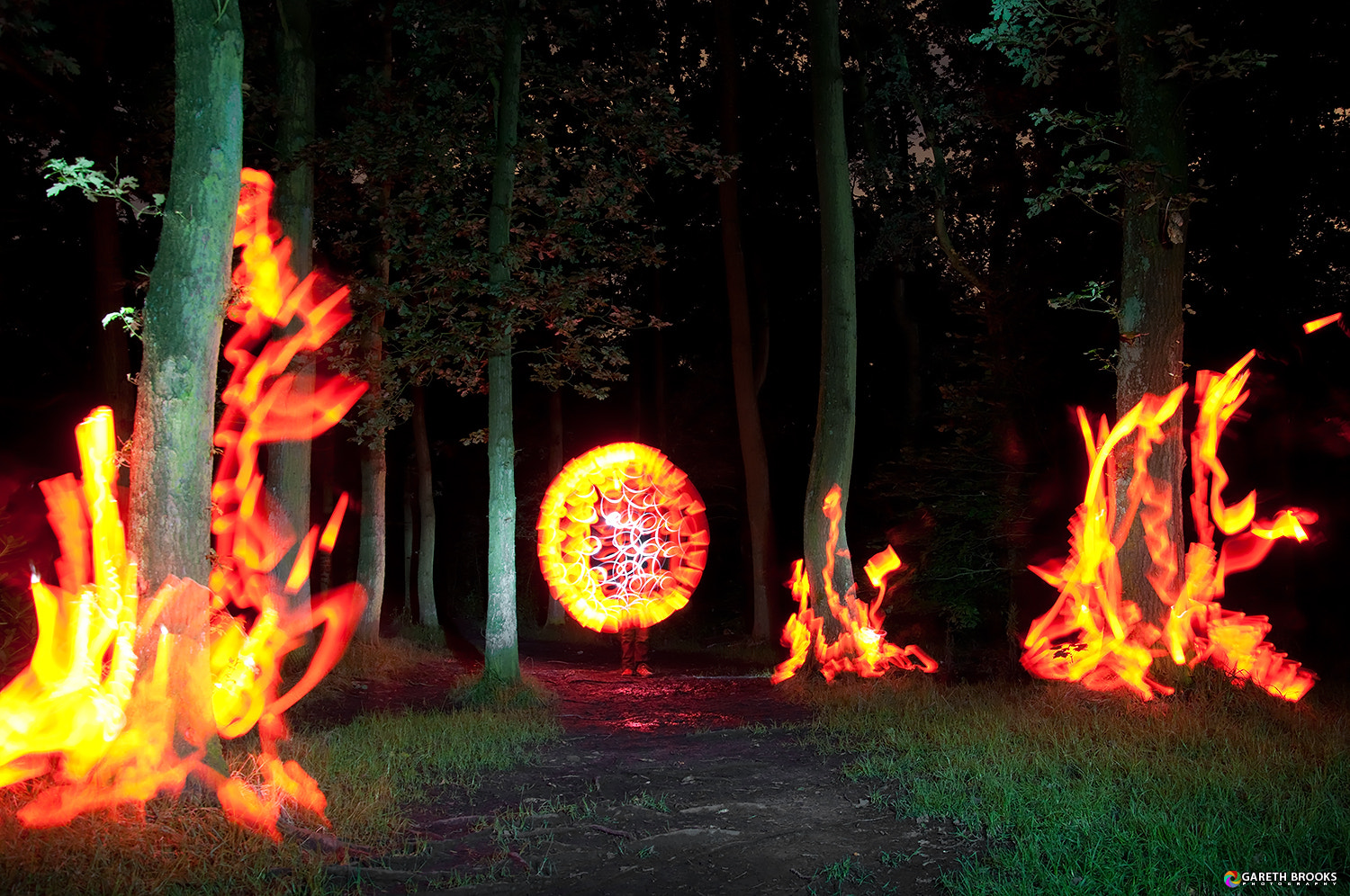 Photograph Artificial Forest Fire by Gareth Brooks on 500px