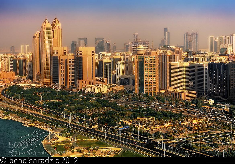 Photograph Abu Dhabi, Corniche Skyline by Beno Saradzic on 500px