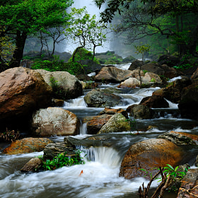 Water stream  by Photos of Thailand (warahemato)) on 500px.com