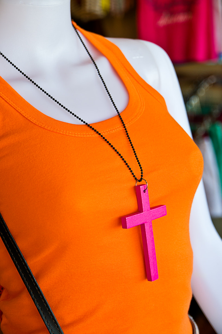 Photograph Pink Cross by Krissana Amorn on 500px