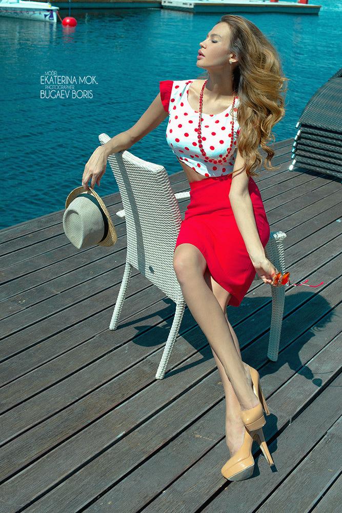 Ekaterina Mok By Boris Bugaev / 500px