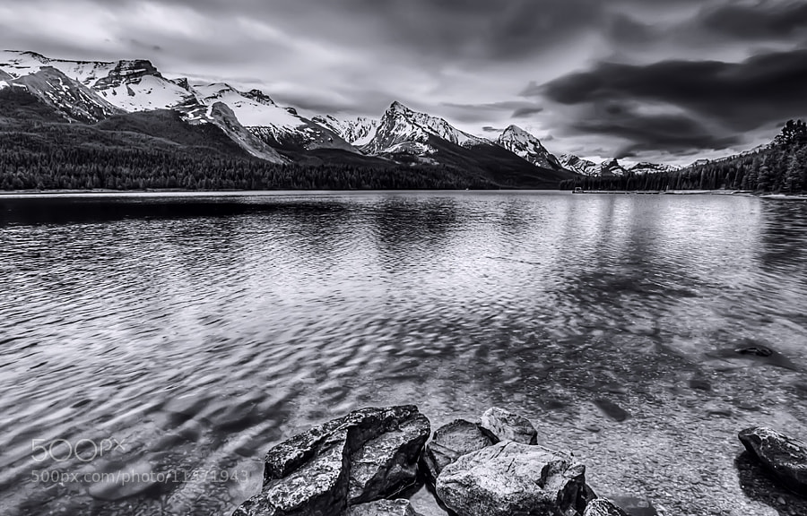 Photograph Maligne Lake by Philippe Brantschen on 500px