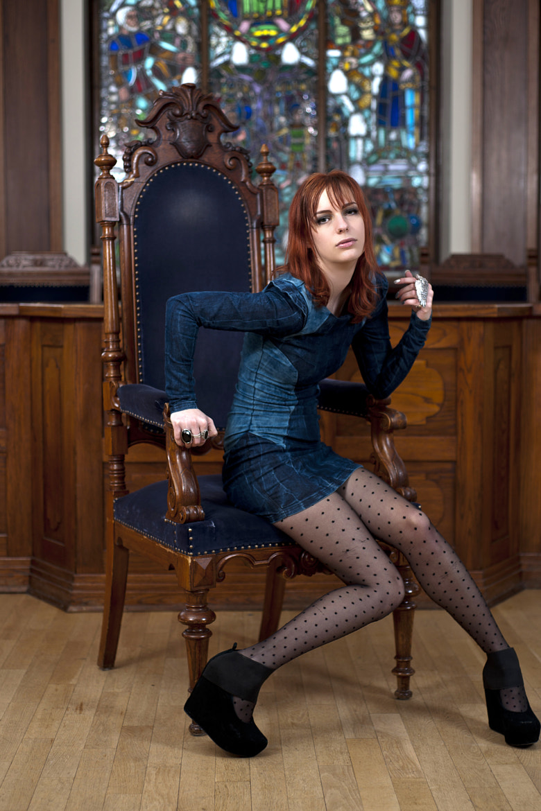 Photograph Josefin @ The Court Room 2 by Victor Sandkvist on 500px