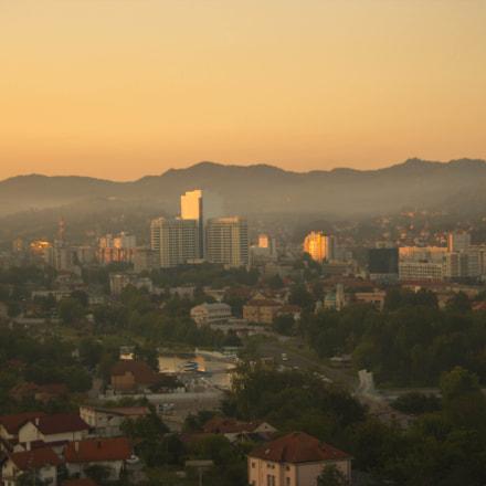 Sunrise in Tuzla