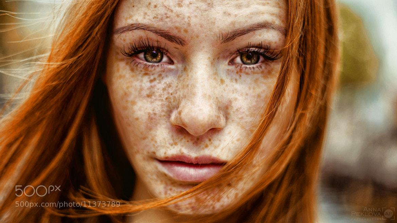 Photograph frecklezz by Anna Peklova on 500px