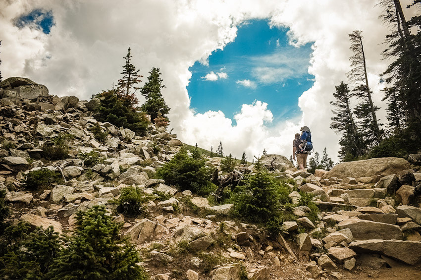 Photograph Hiking To The Heavens by Lindsay McIntire on 500px
