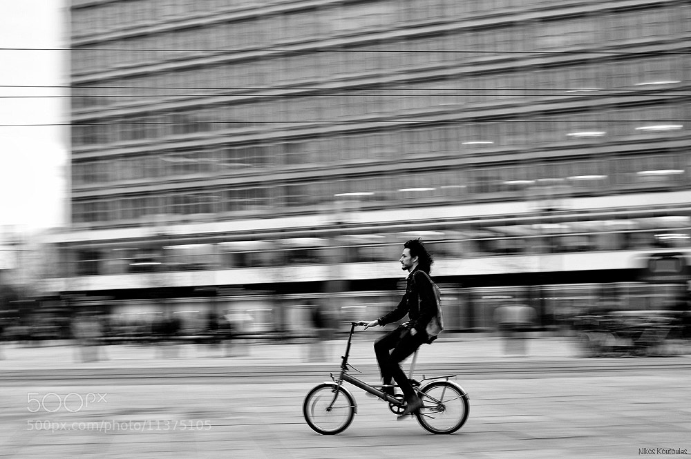 Photograph Fast bicycle by Nikos Koutoulas on 500px