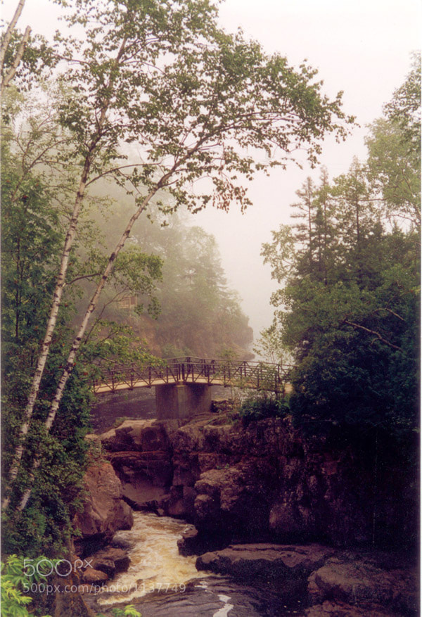 Bridge over Temperance River