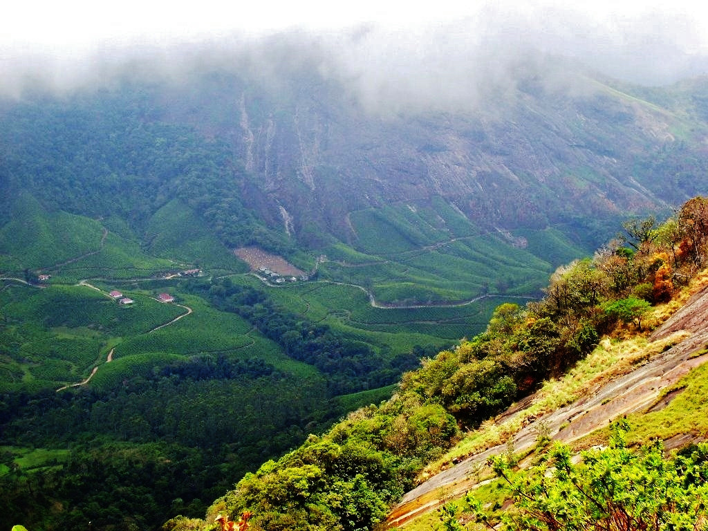 Photograph Viewing down from the Eravikulam National Park, Kerala, India. by Ravi S R on 500px
