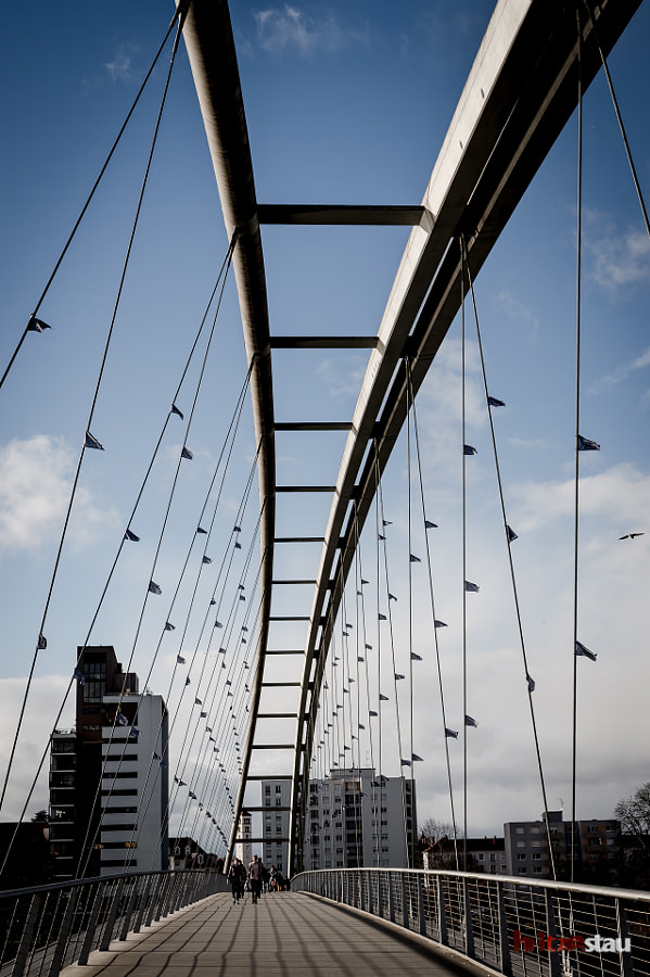 Photograph Suspension Bridge by hitzestau on 500px