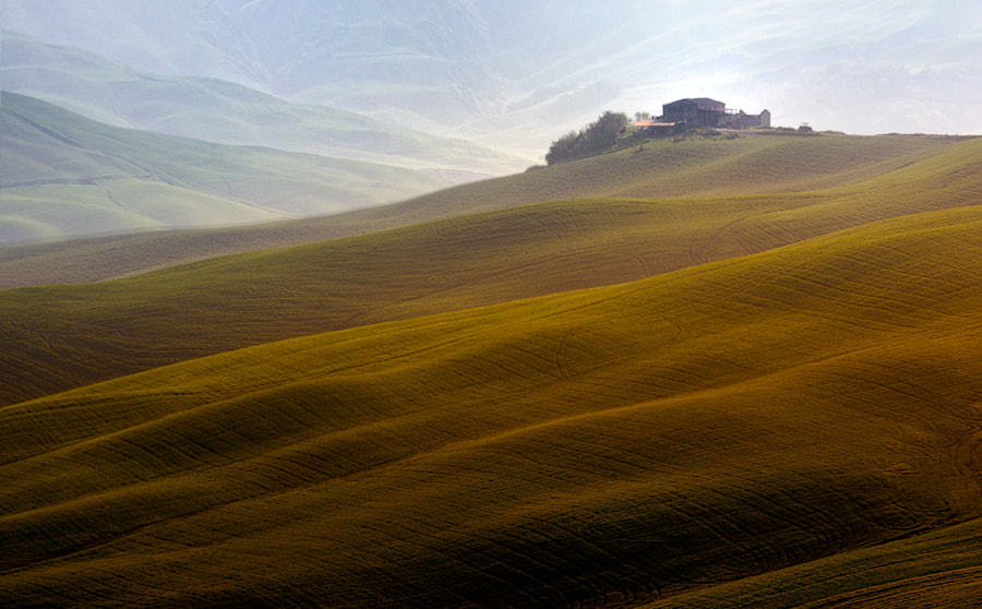 Photograph Golden hill by Izidor Gasperlin on 500px