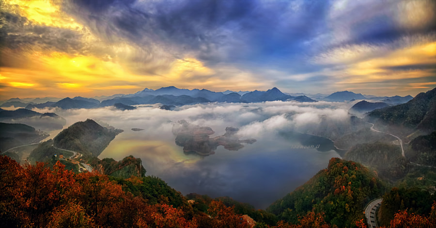 Photograph Okjeongho Lake by Jaewoon U on 500px
