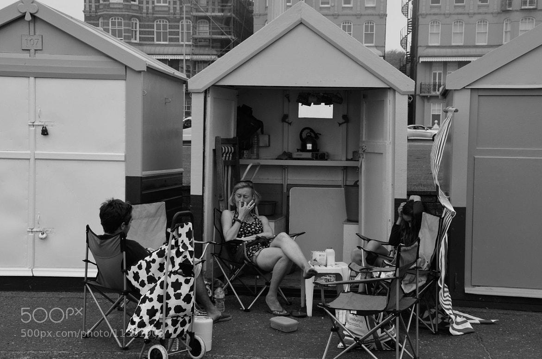 Photograph Beach Hut Party by julian john on 500px