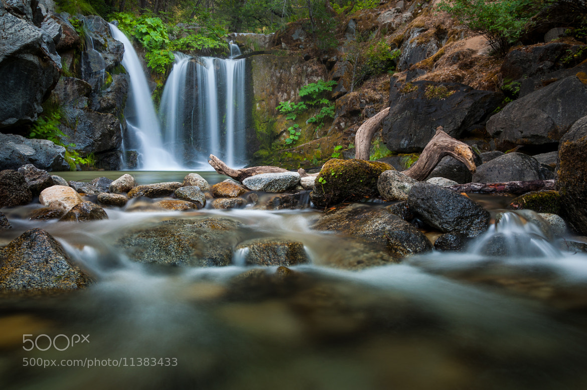 Photograph Upper Crystal Creek Falls (Going Under) by Eric Leslie on 500px