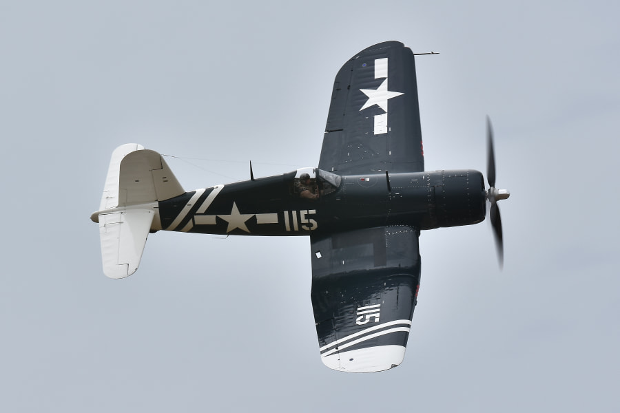 FG-1D Corsair (6) by Paul Blount on 500px.com