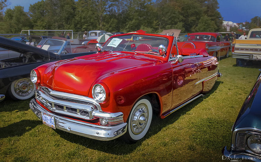 1951 Ford Deluxe Convertible Custom