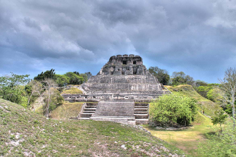 Photograph Xunantunich El Castillo Pyramid by Jonah Walker on 500px