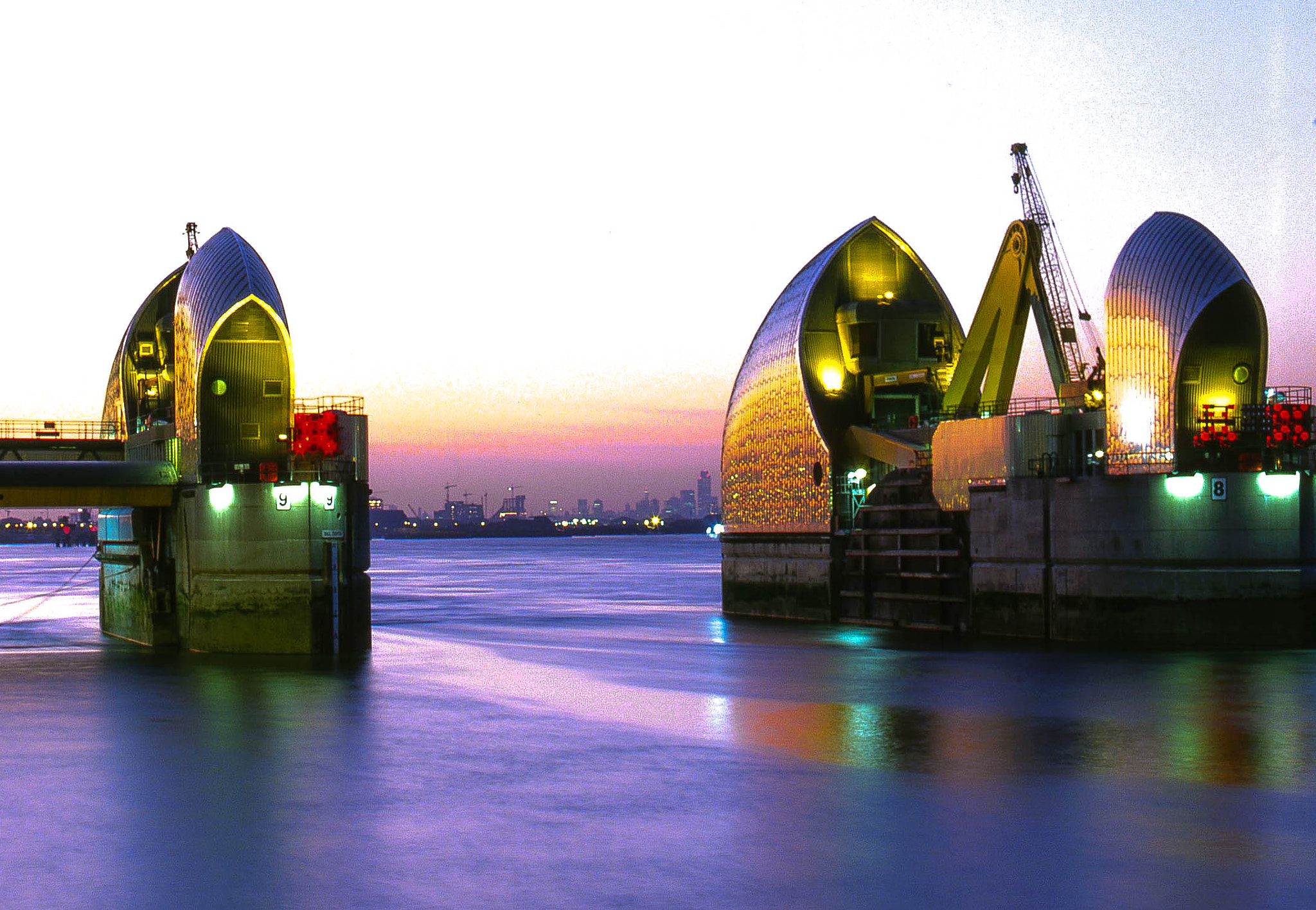 Photograph Thames Barrier Sunset by Phil Clarkstone on 500px