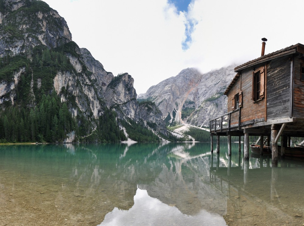 Photograph Lago Di Braies by Alessandro Vitale on 500px