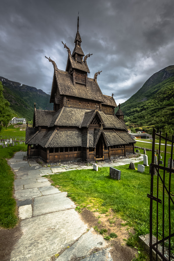 Welcome to Borgund Stave Church, Norway by Europe Trotter